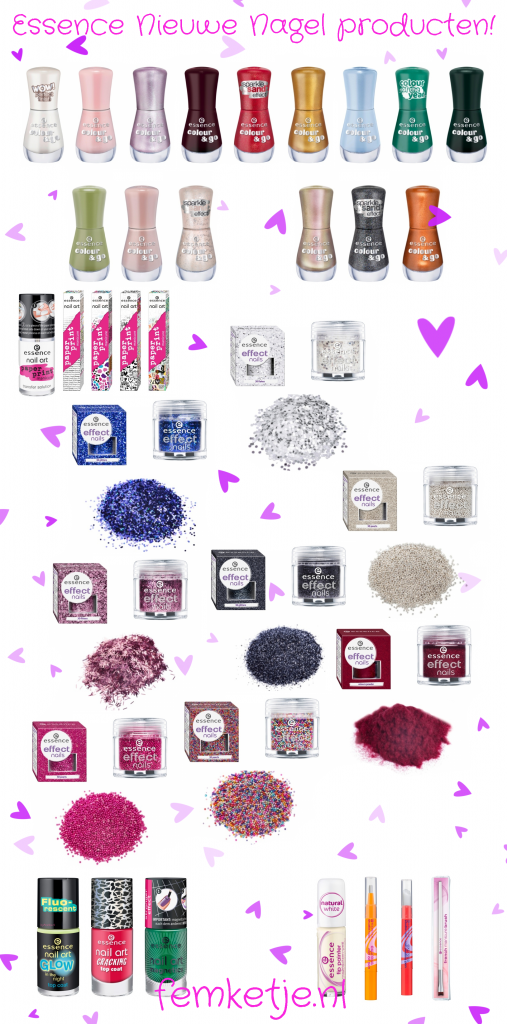 essence nieuwe producten nagels 2013 femketjeNL