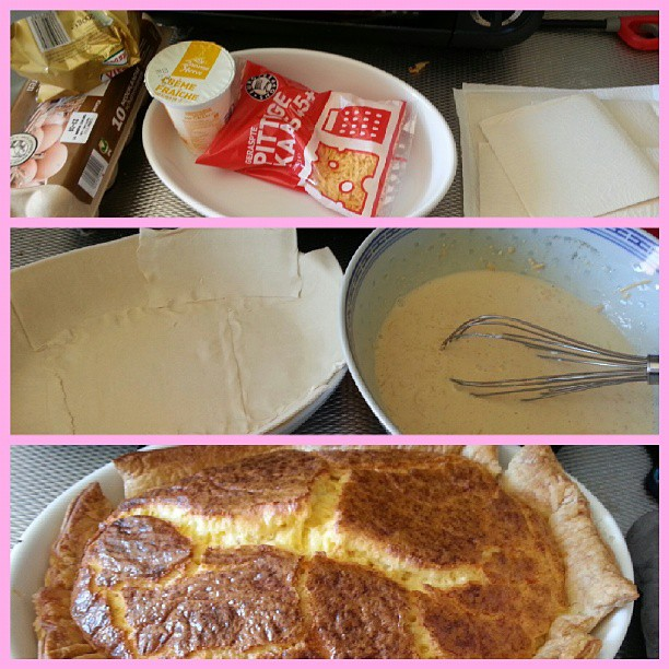 food friday femketje's famous kaas taart