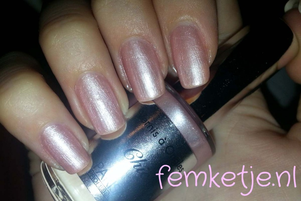 parisax chic swatch femketjeNL