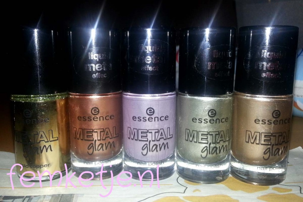 essence metal glam collection femketjeNL