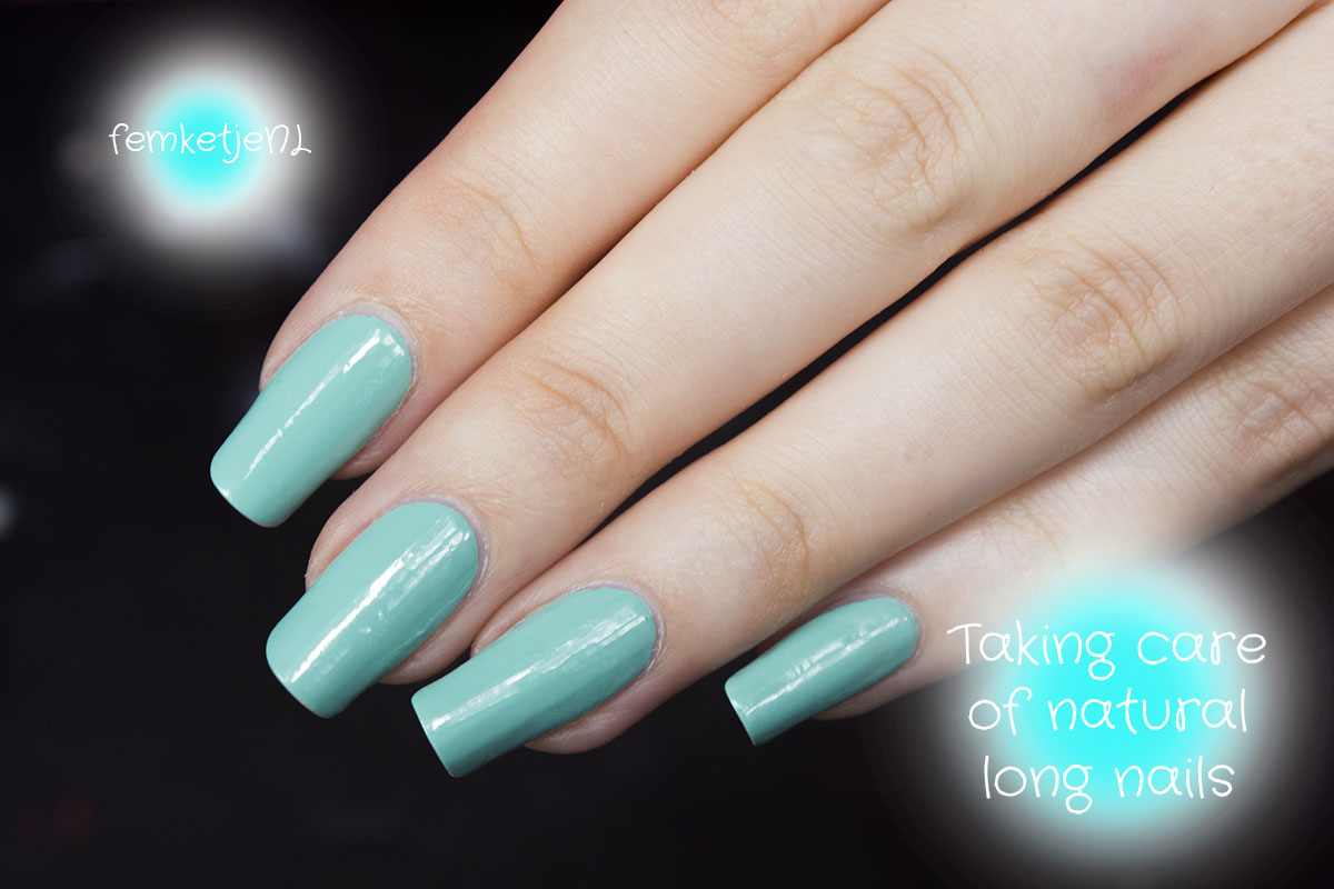 natural long nails – femketje.nl