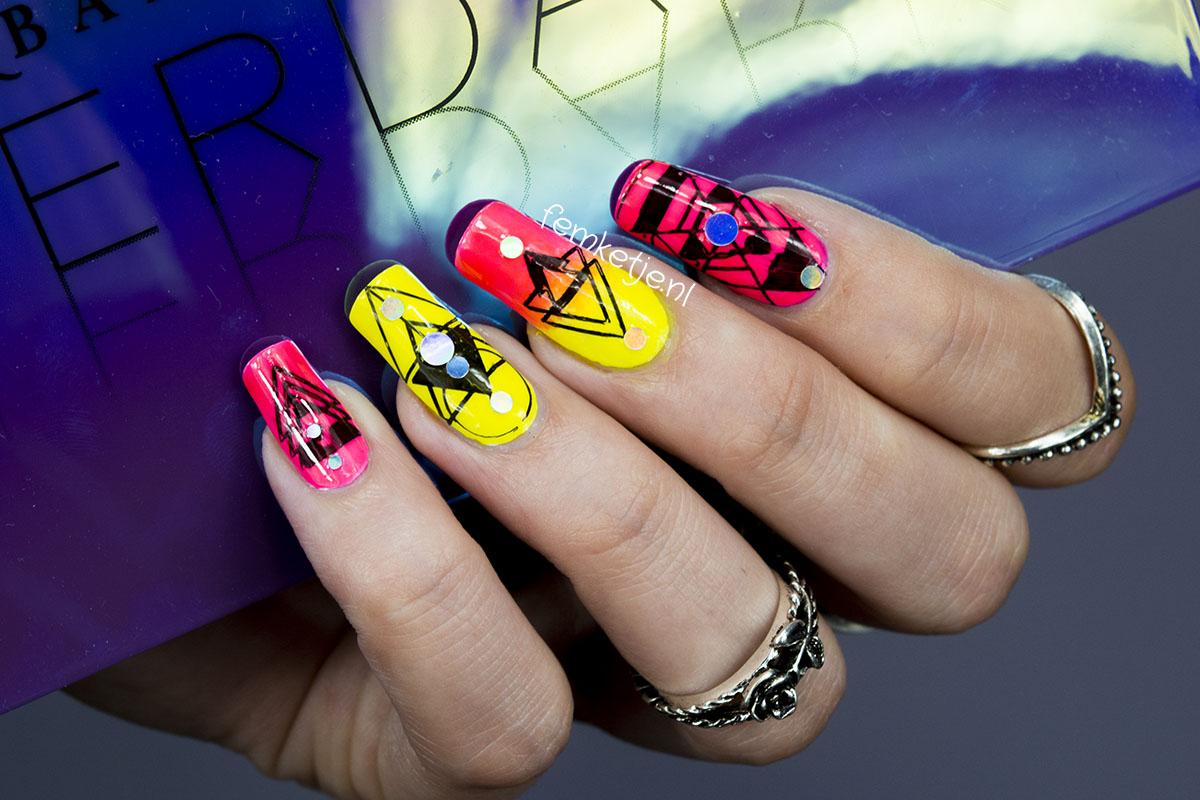 neon nail design – femketje.nl