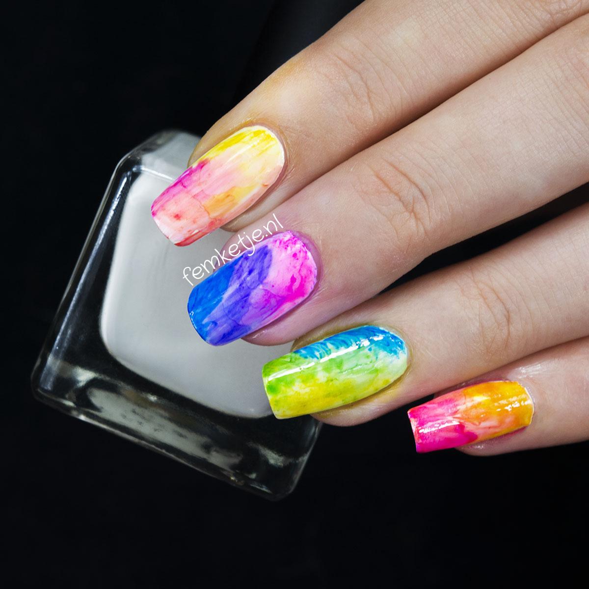 Sharpie Nail Art Femketje