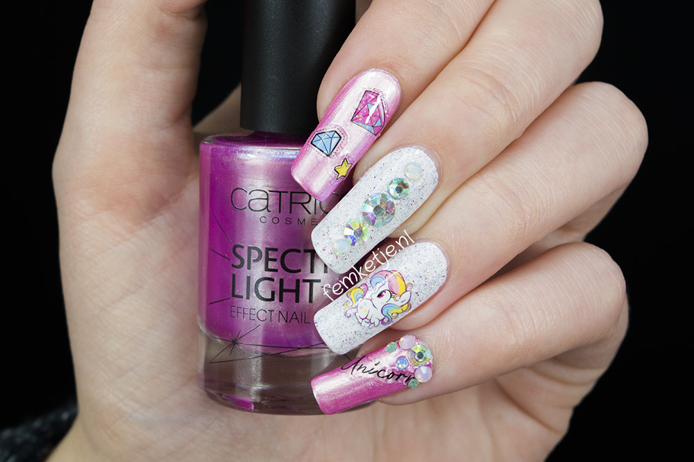 Easy Diy Unicorn Nails Femketje