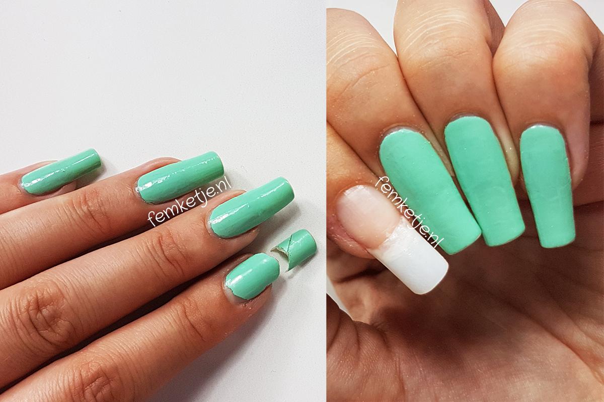 fix a broken nail – femketje.nl