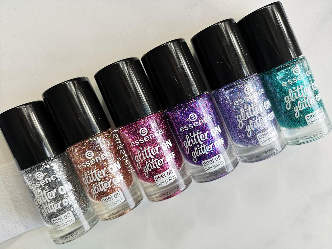 Essence Glitter On Glitter Off Peel Off Nailpolish Femketje Nl