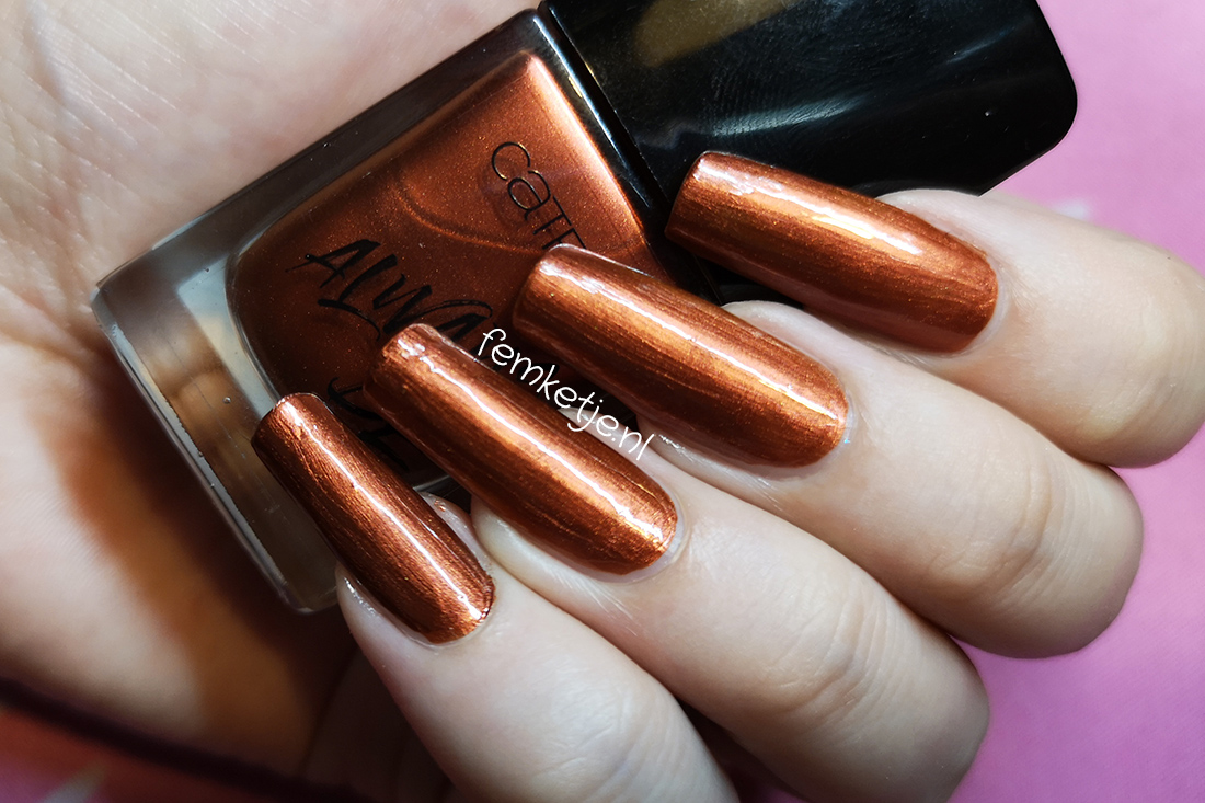 Nailpolish Of The Week – Catrice 58 Good Nails Only. – femketje.nl